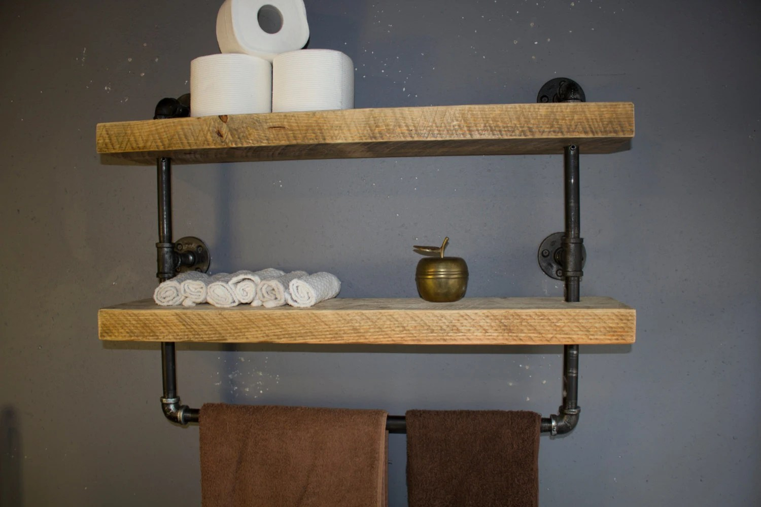 Black Bathroom Shelves With Beautiful Creativity Eyagcicom