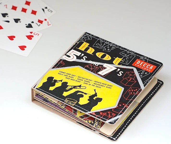 10 Cd Dvd Wallet Cd Holder Art Book Handmade From By