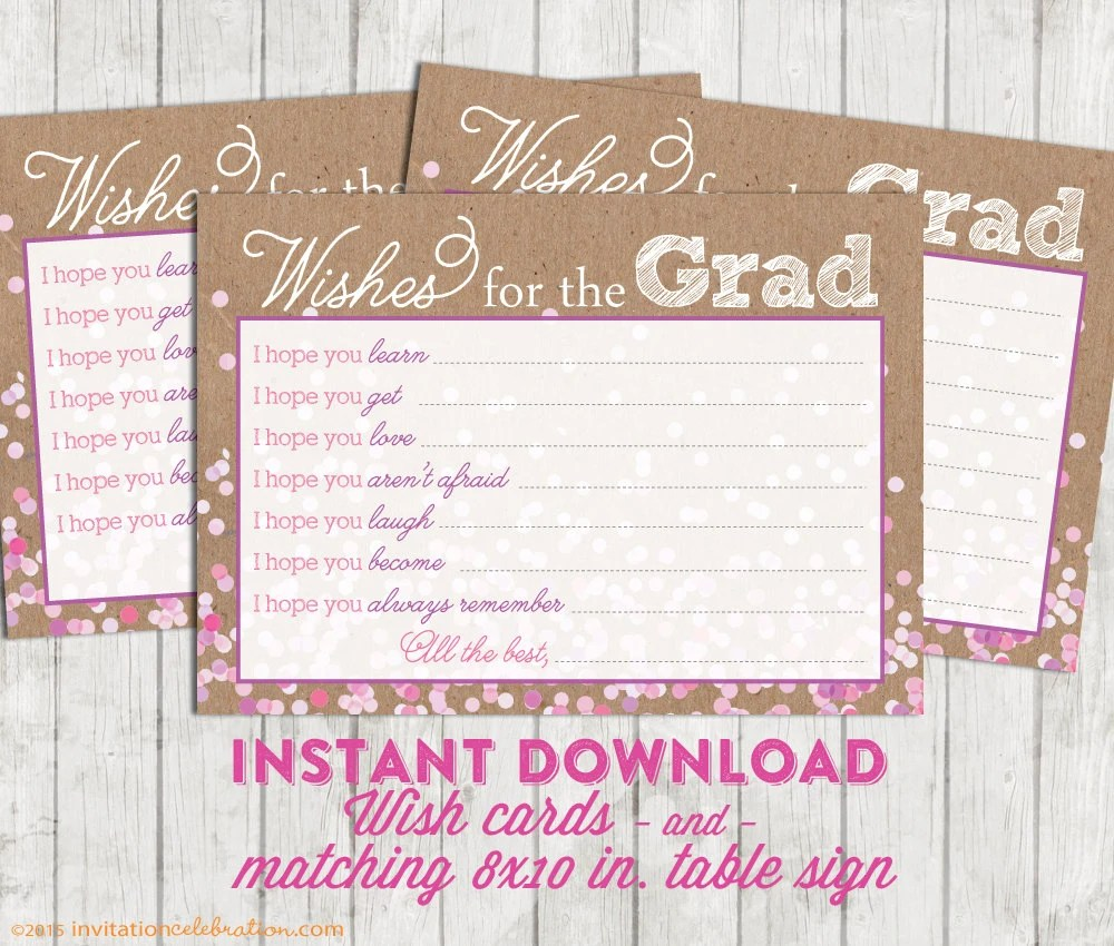 Graduation Cards To Print Out - print grad cards