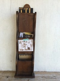 Vintage Wooden Mail Sorter Hanging Mail by VintageSilverLining