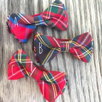 tartan tie christmas bow tie bow ties for boys tartan bow