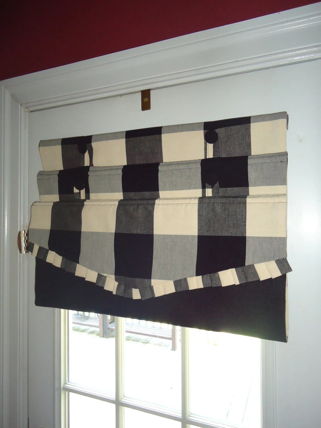 Diy Roman Shades For French Doors French Door Cordless Roman Shades Diy Downloadable