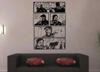 Huge The Walking Dead Wall Comic Strip Wall Art by ...