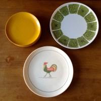 Vintage 1960s Melmac Plastic Plates by RecordsandVintage ...
