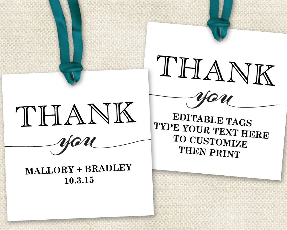 thank you card for baby showers
