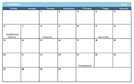 Customize Google Printable Calendar Printable Calendar 2016 For United States Pdf Items Similar To 2016 Digital Printable Monthly Calendar