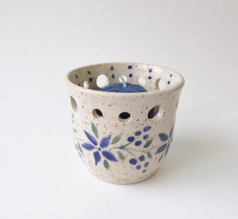 Pottery Votive Ceramic Votive Pottery Candle Holder Tea