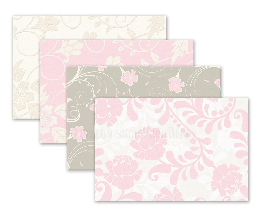 Floral envelopes 4x6 Envelopes Printable envelope template - 4x6 envelope template