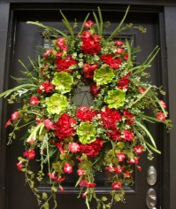 Extra Large Wreath Spring Wreath Front Door Wreath by ...