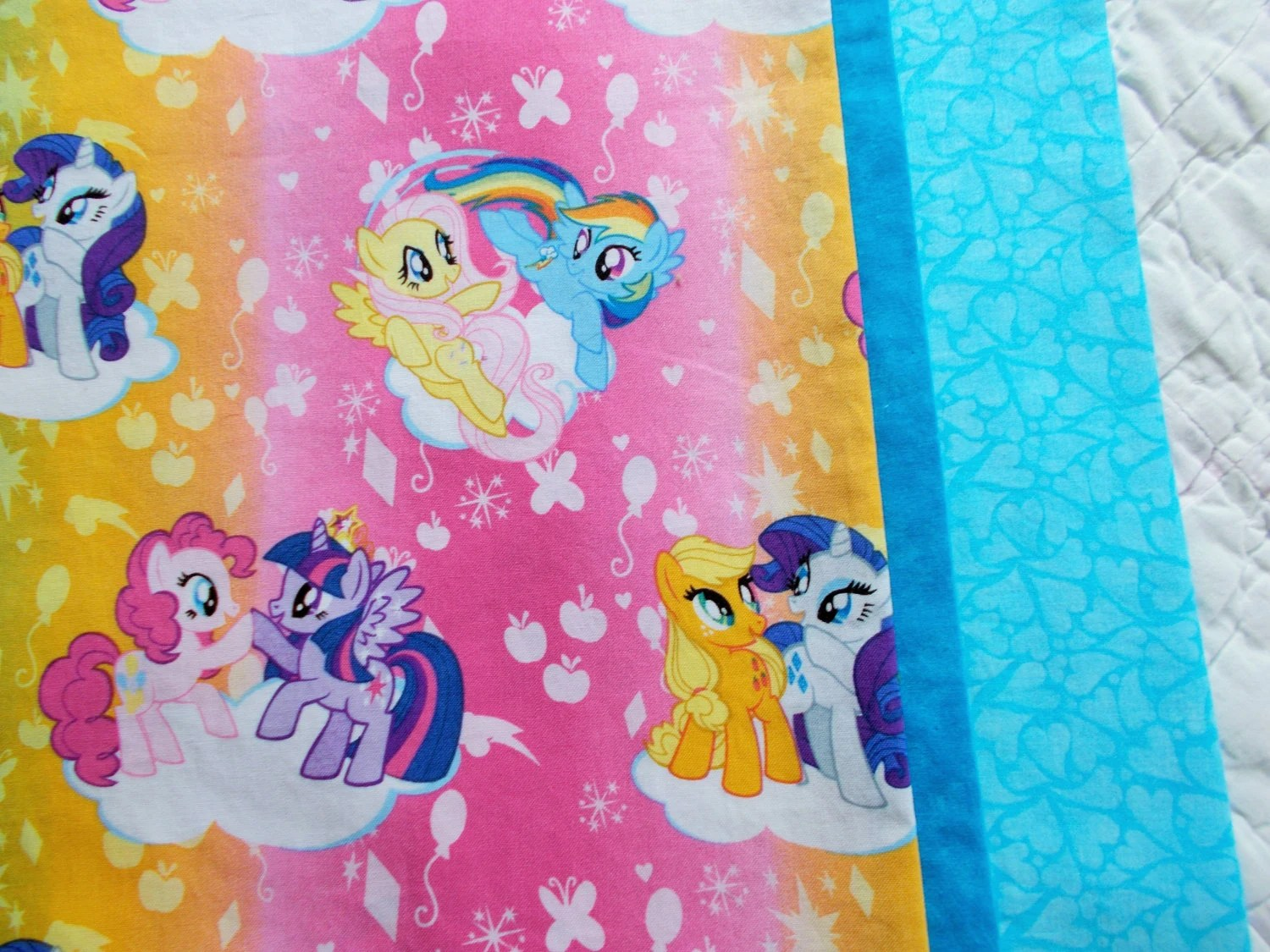 My Little Pony Children Or Travel Pillow Case By Sewsisterso