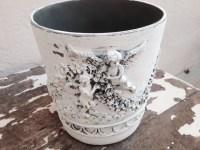 ANGEL Waste Paper Basket Rubbish Decorative Waste Paper