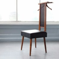 Vintage Valet Butler Gentleman's Chair Mid Century