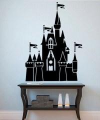 Disneyland Wall Vinyl Decal Castle Wall Vinyl by ...