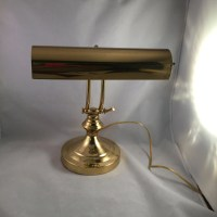 Vintage Brass Piano Lamp Desk Lamp by ThumbBuddyWithLove ...