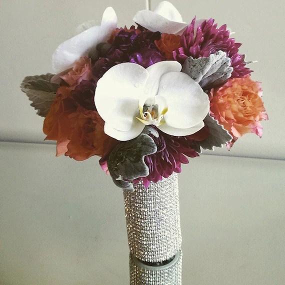 Rhinestone Bridal Bouquet Holder Rhinestone By