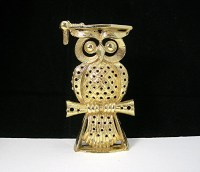 Owl Pierced Earring Holder Wise Owl Made by by ...