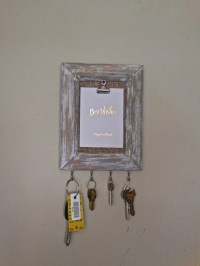 Decorative Wall Key Holder Picture Frame Note by PippinPost