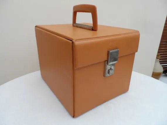 Original Circa 1970 7 45 Rpm Vinyl Record Storage Box