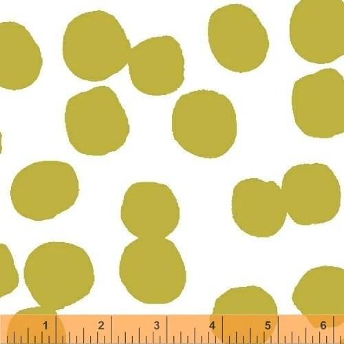 Lotta Jansdotter Fabric - Lucky - Hemendu in Queen Olive