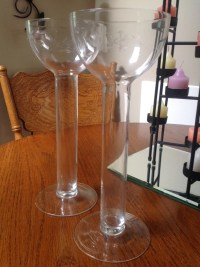Princess House Crystal Floating Candle Holders