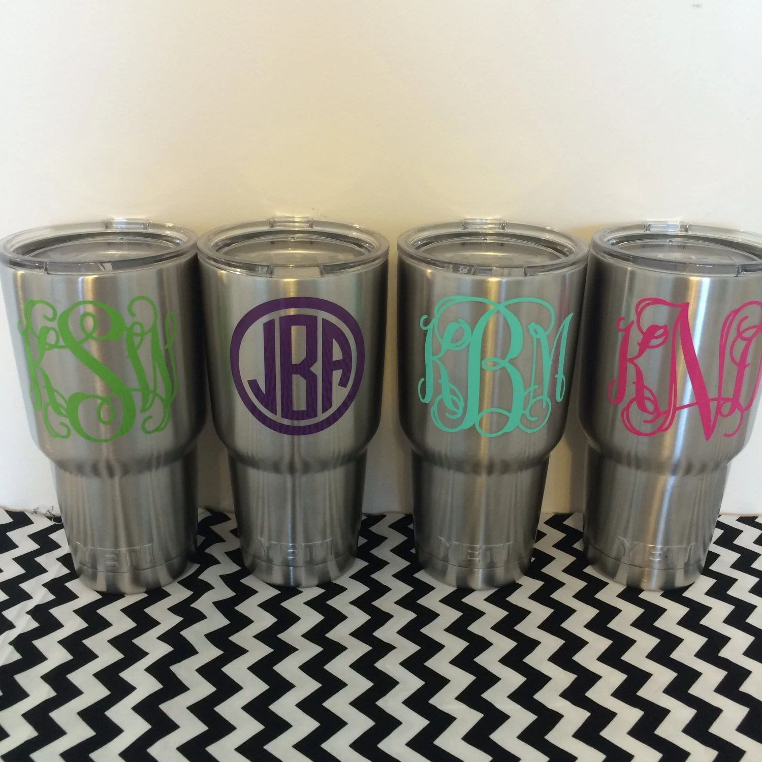 Customized Yeti Rambler 30 Oz Monogrammed Yeti Tumbler