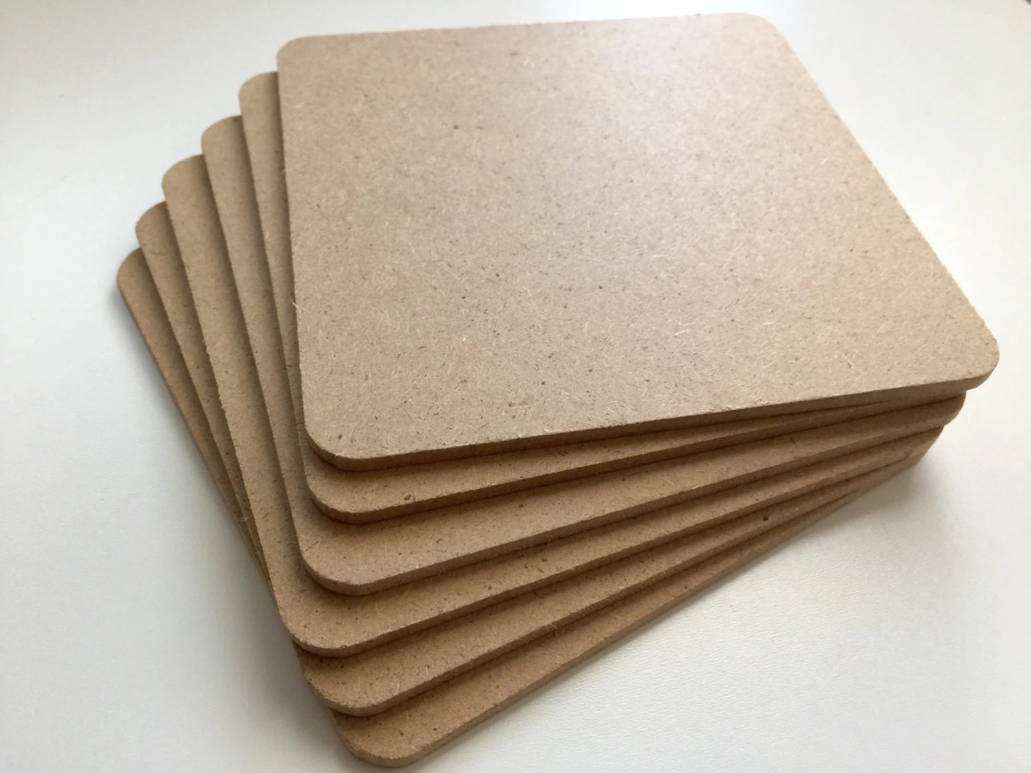 Large Coasters Bulk Blank Coasters Perfect For Stamping Or Painting On