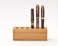 Wood Pen Holder Fountain Pen Holder Desk Organizer LORD JAMES