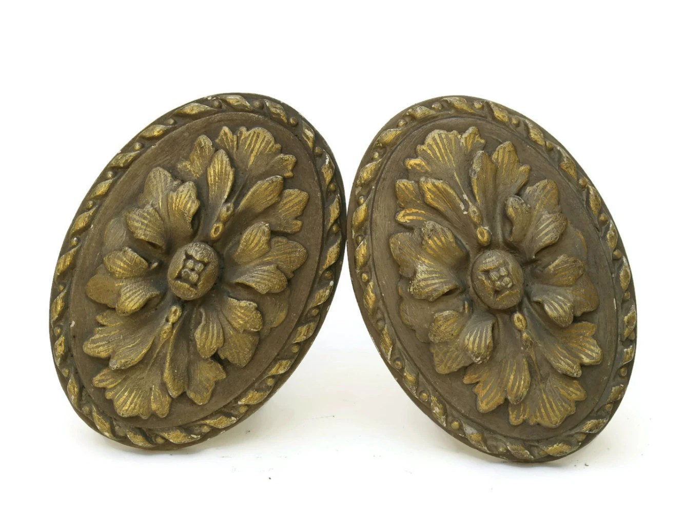 Antique Bronze Curtain Tie Backs 3x Antique French Gilt Bronze Curtain Tie Backs Classics Life