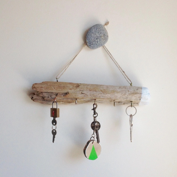 Driftwood Beach Decor Driftwood Key Holder By