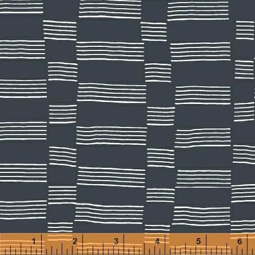 Lotta Jansdotter Fabric - Lucky - Etapp in Midnight Navy