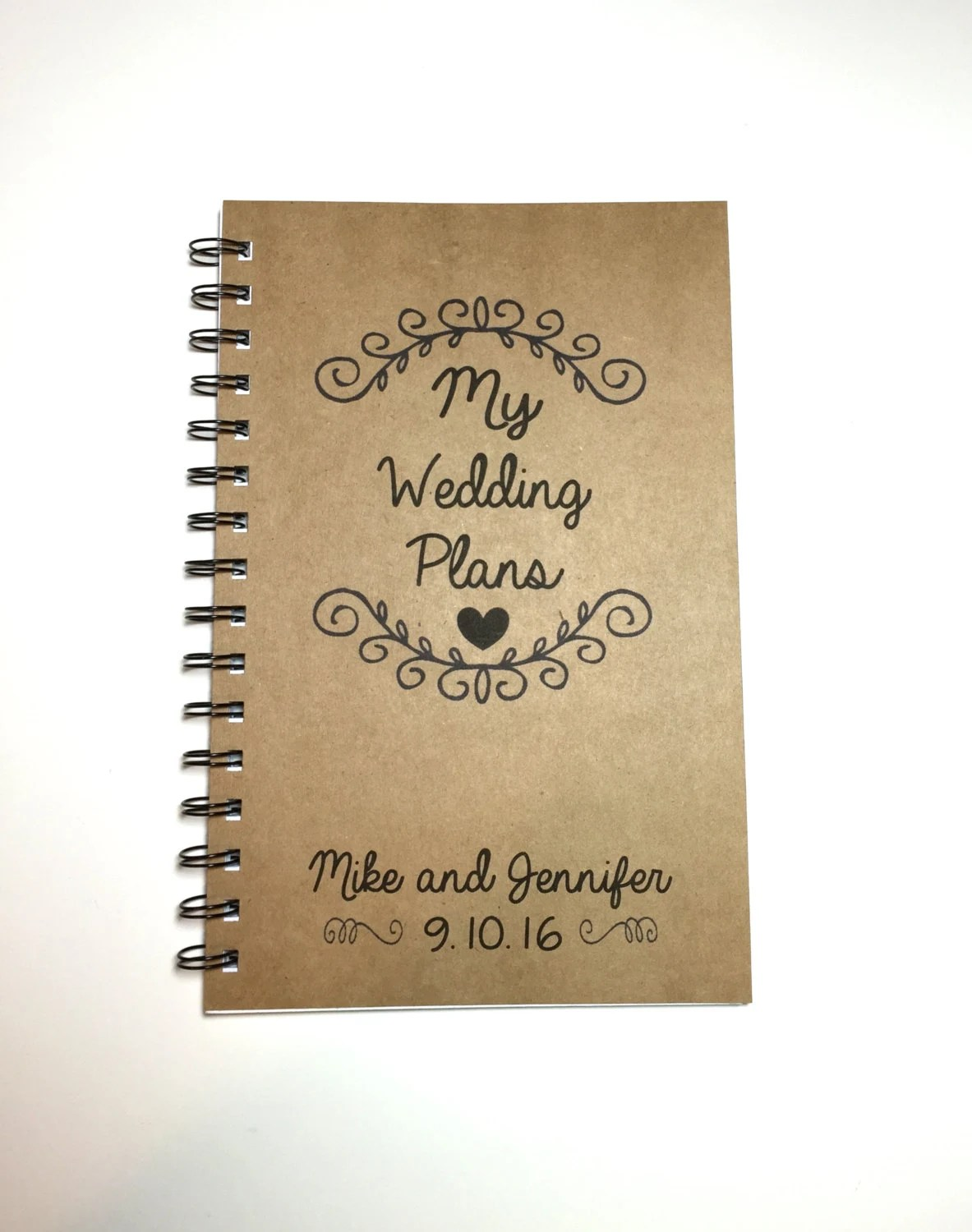 personalized wedding planner book - Wedding Decor Ideas - Wedding Plans