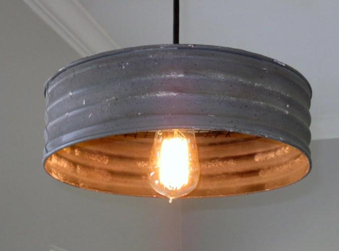 rustic lighting rustic kitchen lighting Lighting Metal Sifter Pendant rustic lighting Industrial lighting ceiling light kitchen light pendant light