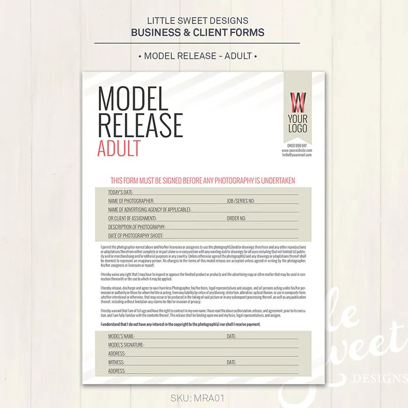 talent release form template dzeo - Talent Release Form Template