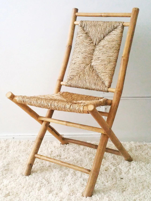 Bamboo Folding Chairs