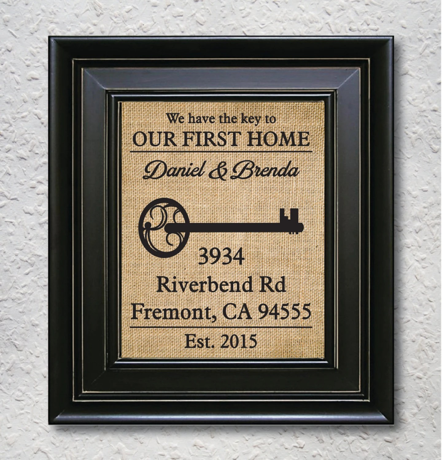 First House Gift Ideas Our First Home Personalized Home Gift Custom First Home