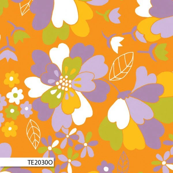 Emma Jean Jansen Fabric - 60's Scrap Bag -  Sophie Orange