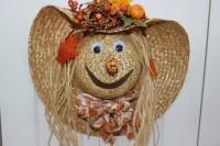 Scarecrow Hat Door Decoration