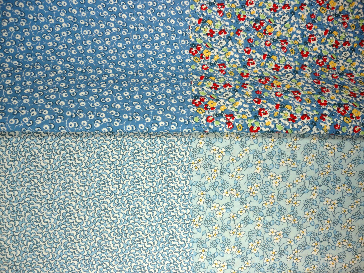 Flour Sack Fabric By The Yard 1930 39s Reproduction Flour Sack Prints Cotton Fabric 4