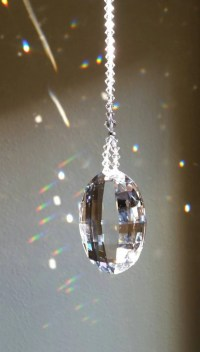 Crystal suncatcher crystal wedding gift window decoration