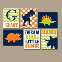 DINOSAUR Wall Art Canvas or Prints Boy DINOSAUR Decor by ...