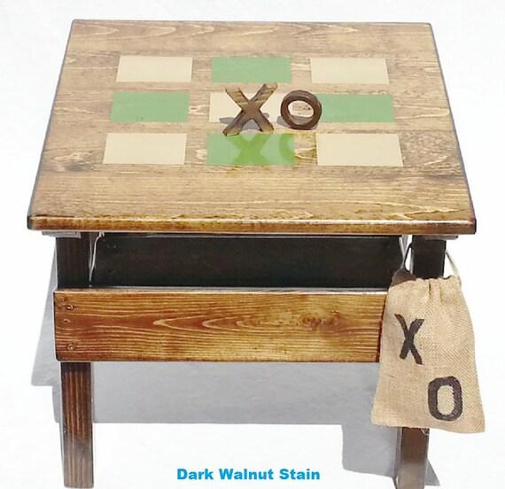 Children39s Furniture Kids Folk Art Wood Game Activity