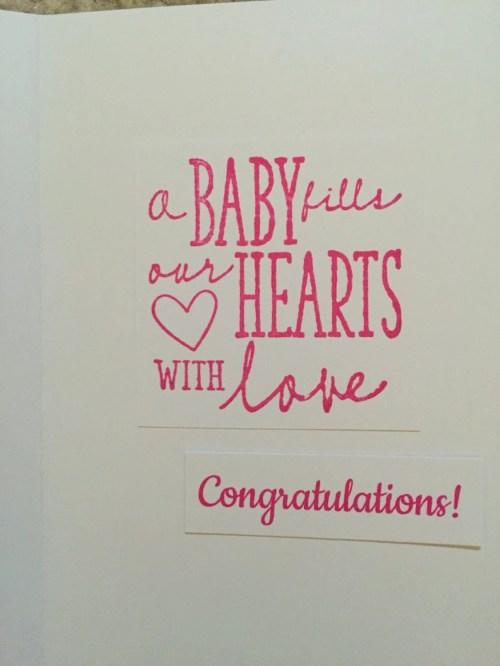 Medium Of Congratulations On New Baby