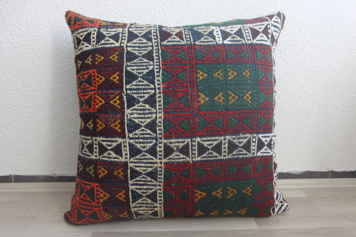 Couch Zipper Seat Covers Designer Pillow King Size Bedding Kilim Ottoman Large Cushion