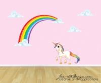 rainbow wall decal  Roselawnlutheran