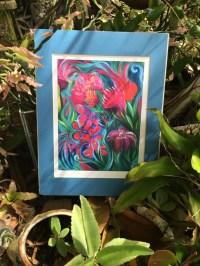 Bohemian Art Colorful Tropical Boho Wall Decor by ...