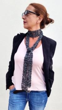 Skinny black scarf thin women scarves skinny scarves skinny