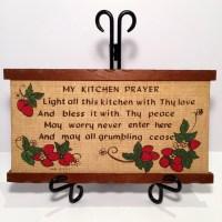 My kitchen prayer | Etsy