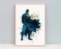 Batman art | Etsy