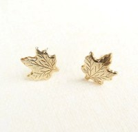 Maple Leaf Earrings Autumn Jewelry Canada Earrings Woodland