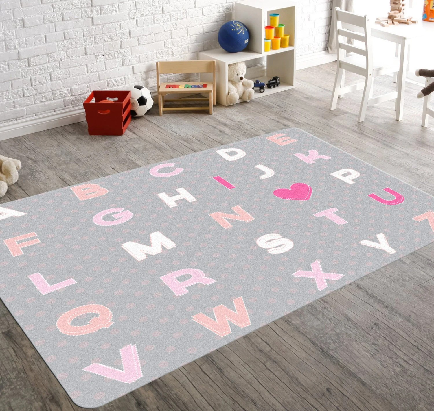 Baby Rugs For Nursery Room Alphabet Nursery Nursery Rug Kids Rug Pink Nursery Rug